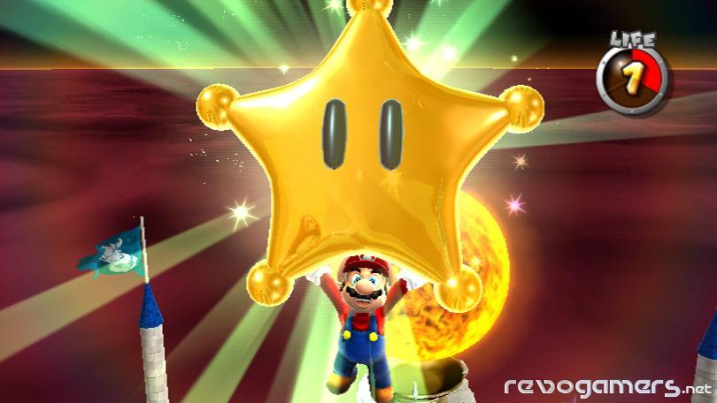 La estrella de Mario en Nintendo