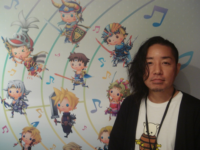 Entrevista E3 Final Fantasy Theatrhythm