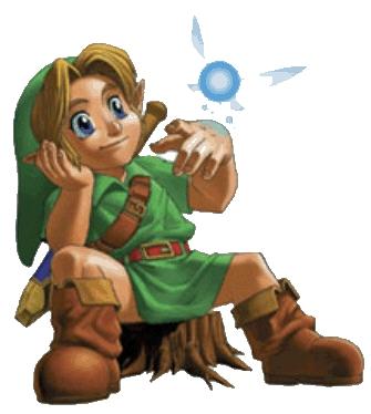 Cronología Zelda Link Navi