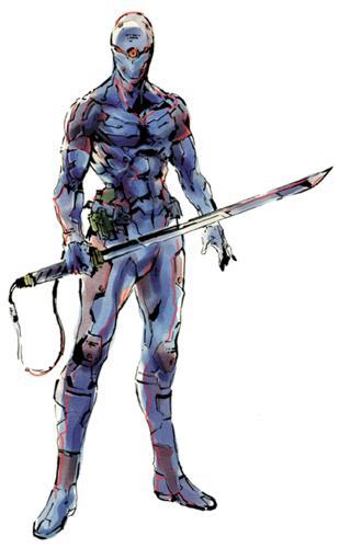 Metal Gear Solid Gray Fox Ninja