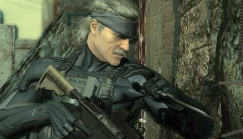 Metal Gear Solid 4 Old Snake