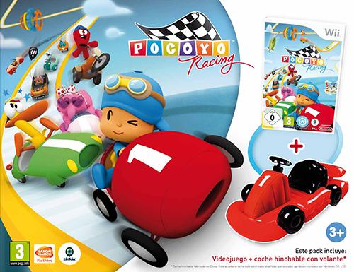 El juego de Pocoyó para Wii y DS viene con juguetes