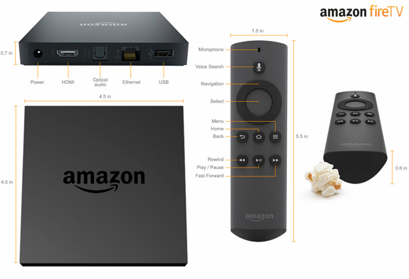 ¿La Fire TV de Amazon amenaza a Wii U?