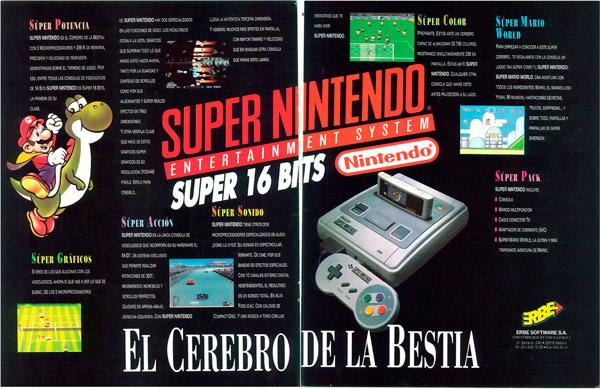 Super Nintendo - El Cerebro de la Bestia