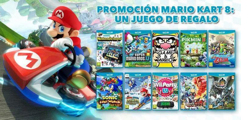 Cu L Es Tu Juego De Regalo Con Mario Kart 8 Articulos Wii U