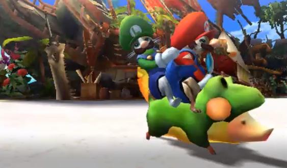 Mario y Luigi Monster HUnter 4