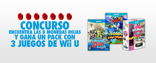 Concurso Pack Zelda Wind Waker Hd Sonic Lost World Y Wii Party U