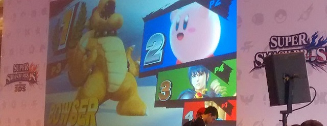 Narraci�n del torneo Super Smash Bros Wii U de MGW