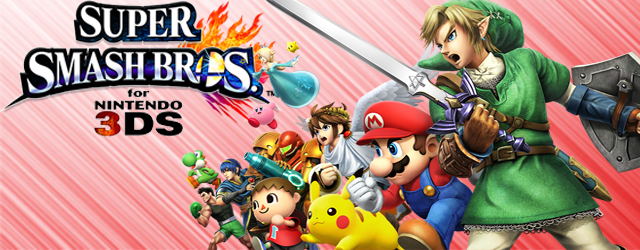 Los m�s pintorescos de Super Smash Bros. para Nintendo 3DS