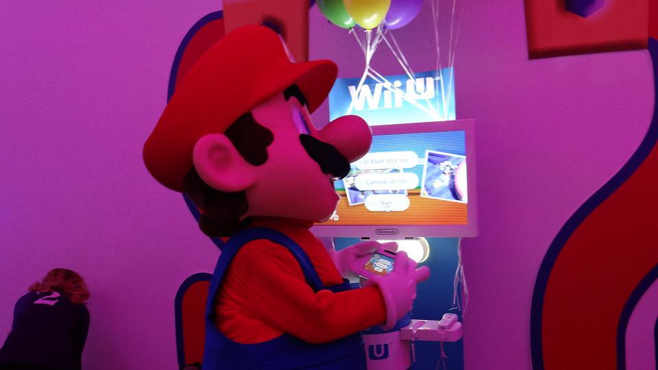 Nintendo Land en Madrid