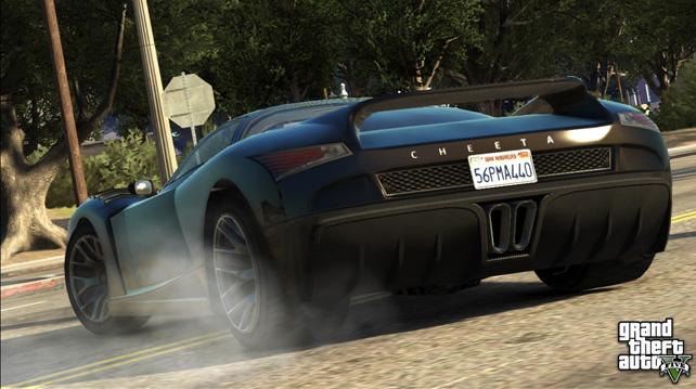 Los vehículos de GTA V