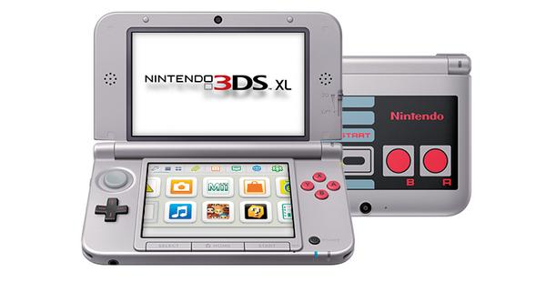 Nintendo 3DS XL versión NES