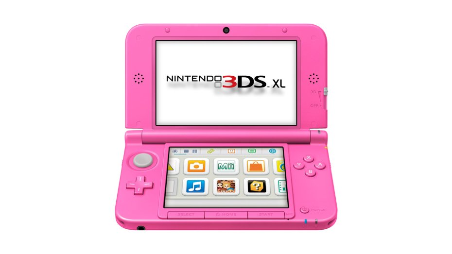 Nintendo 3DS XL Rosa chicle