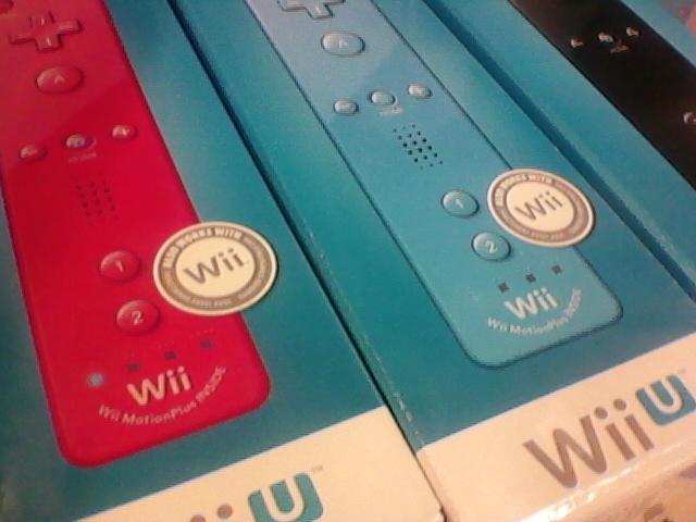 Wiimote Plus Wii U