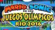 Mario & Sonic en los juegos Ol�mpicos: R�o 2016 (Wii U)