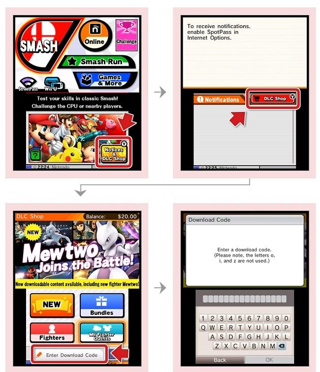 Tutorial - C mo descargar a Mewtwo en Super Smash Bros  Wii