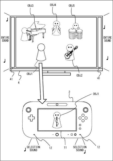 Wii Music U patente