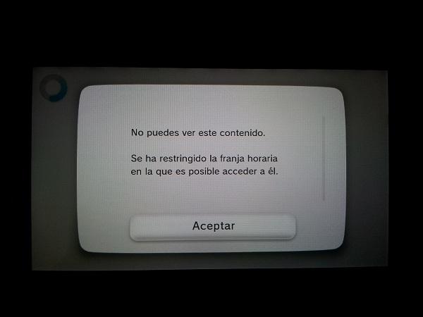 Restriccion edad eShop de Wii U